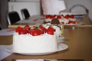 Den här sommardrömmen blev utsedd till både bästa och godaste tårta.