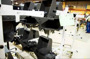 I samband med att tillverkningen av chassin kommer i gång på allvar kommer en form av produktionslina att bli verklighet på Samhall i Svenstavik.