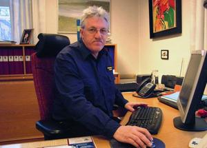 Morgan Olsson, Östersund, sedan årsskiftet räddningschef  i Bräcke och Ragunda kommuner.Foto: Ingvar Ericsson