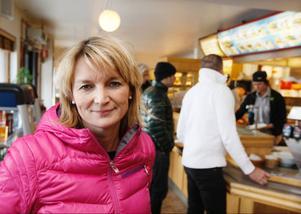 Katarina Magnusson på Tages på Frösön, säger att redan från början är ger luncherna en dålig lönsamhet. Den nya trenden att inte äta potatis, ris eller pasta utan istället mer kött istället, gör det hela ännu sämre.