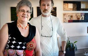 Mer konst med ny region. Gundi Behrens och Manfred Lischka driver ett konstgalleri i Hällefors och är engagerade i bildandet av Konstnärsförbundets nya Region Mitt.