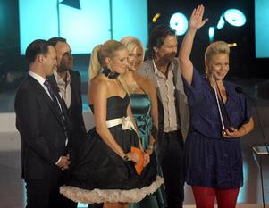 LET´S DANCE blev årets program när tv-priset Kristallen delades ut  i Globen i Stockholm på måndagen.