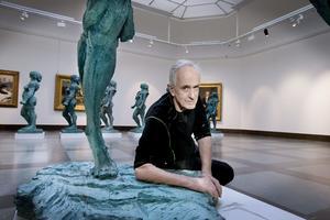 2015 ställde Richard Brixel ut på Örebro Länsmuseum. Arkivbild: Robban Andersson