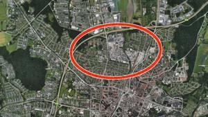 Den händelsen inträffade på Holmens industriområde och Osmundgatan.