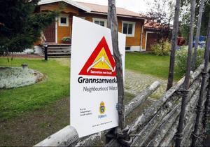 För att varna ovälkomna gäster kommer skyltar att sättas upp i de områden som ingår i grannsamverkan.