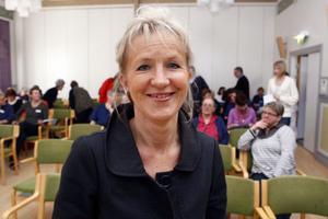 Mai-Lis Hellénius föreläste för vårdpersonalen i Gävleborgs län på tisdagen om hälsa och livsstil och informerade om den nya kursen på webben.