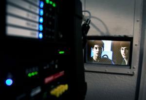 En 3000 watt stark lampa ger bra bild på bioduken med den nya digitala projektorn.
