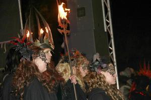 Vokalgruppen Dimmerar'yn, förstärkta med Leo Flavum, lade klangbotten i avslutningen av kvällen.