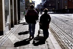 Mamma, pappa, barn. Om Kristedemokraterna själva får bestämma. Foto: Pontus Lundahl