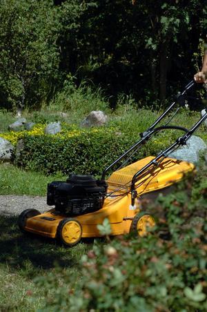 Gräsklipparen är det redskap som orsakar flest olyckor i trädgården.