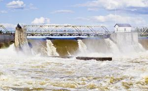 Gott om vatten. Kan vattenkraften ge lika mycket energi i framtiden?Foto: Vegard Grøtt/Scanpix/TT