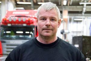 Mats Albertsson, servicemarknadschef på Berners tunga fordon i Östersund, sitter än så länge stilla. Men inom fem år tror han att motorbranschen kommer att ha stora problem med att rekrytera personal och det kommer att påverka Sverige menar han.