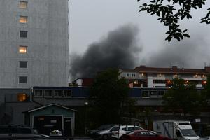 Bild från Stockholmsförorten Husby.
