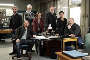 """A-gruppen. """"Arne Dahl: Misterioso"""" har premiär i mellandagarna i SVT 1. Magnus Samuelsson gör sin första stora skådisroll som polisen Gunnar Nyberg. Foto: Johan Paulin"""