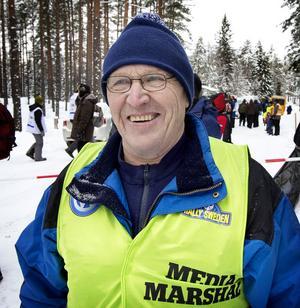 Ludvika MS bidrog med ett antal funktionärer och en av dem var Janne Eriksson.