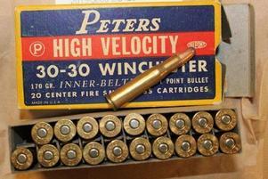 Mannen har sagt i polisförhör att han hade ammunition kvar efter en anhörig som gått bort.