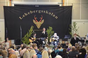 Tears in heaven. Tobias, Johan och Johan S.