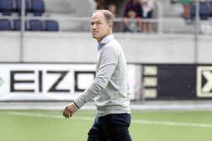 Gefles tränare Thomas Andersson var besviken efter förlusten mot Hammarby.