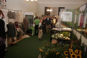 Drygt 50 utställare kom till Nordanstigsmässan som i år fokuserade på temat miljö och energi.