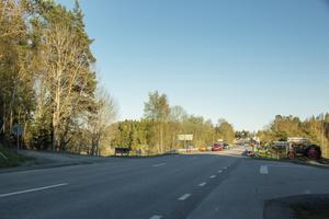 Avfarten till Färsna är ett högprioriterat mål i den nya förbättrade trafikplan som kommunen tagit fram. Likaså avfarten till Fjällstigen strax norr om Norrtälje.