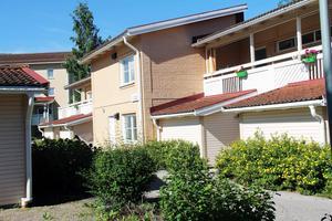 I dag bor 14 ensamkommande ungdomar i Lyckebo i Alfta.