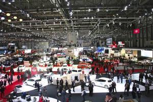 Bilsalongen i Genève hålls för 84:de gången och lovar 146 världs- och Europapremiärer. Den är öppen för allmänheten 6-16 mars.Foto: Helena Lundberg