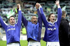 2001 säkrades det allsvenska kontraktet i den allra sista omgången.