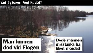 Livlös. En 22-årig man hittades död vid sjön Flogen en förmiddag i maj för tio år sedan.