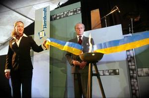 2003 invigdes Jämtkrafts nya kraftvärmeverk i Lugnvik. Kung Carl Gustaf invigde kraftvärmeverket genom att tända en liten fliseld som sedan brände av bandet.
