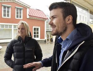 Jackline Lockner, Åmynnet föredrar chokladbollar medan Edwin Nordström, Sollefteå, gillar wienerbröd bäst.