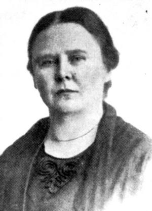 UNG VÄNSTER. Socialdemokraten Maja Qvist var 30 år när hon när 1910 tog plats i Gävle stadsfullmäktige.