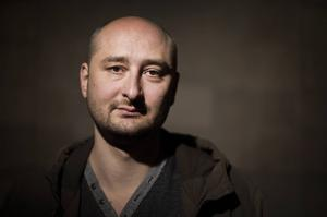 Den ryske journalisten och författaren Arkadij Babtjenko är bokad till årets upplaga av Littfest i Umeå. Arkivbild.