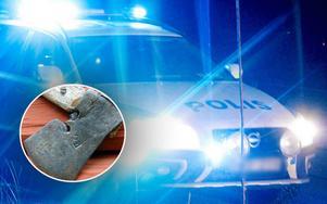 Två män fördes med ambulans till sjukhus efter ett bråk i Vansbro.