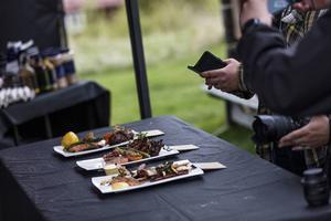 Mimmi Sjölund blev vinnare i tävlingen Årets grillkock som arrangerades i samband med mässan.