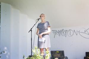 Åsa Eriksson höll ett högaktuellt tal samt hälsade nya norbergare välkomna.