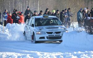 Patrik Åkerman hade en inte helt lyckad dag i Sandvikenskogarna men slutade trots allt åtta i Trimmat 4wd.