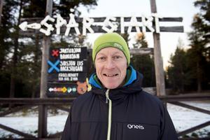 Pessi Liukkonen är själv en flitig motionär som både springer och åker skidor inte minst på Södra berget.