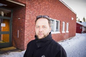 Stefan Wehlin, rektor på friskolan Lyftet som bombhotades i söndags.