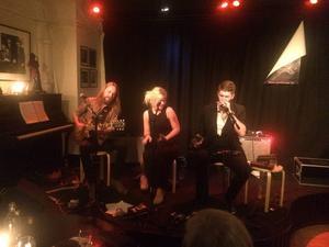 Lisa Lystam och hennes bandkollegor bjöd på en fin uppvisning i blues.