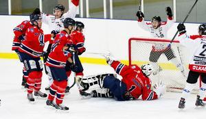 Örnsköldsviks HF fick med sig fyra av de sex poäng som stod på spel i helgens två division 1-omgångar.Foto: Jennie Sundberg/arkiv