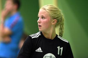 Molly Bergqvist gjorde sju mål för Härnösand och var bäste utespelare mot Strand.