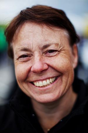 Monica Öberg från Piteå innehar banrekordet på Sundsvall Raceway.