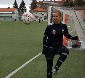Therese Westin har gjort 15 mål på nio matcher för sitt Brynäs.