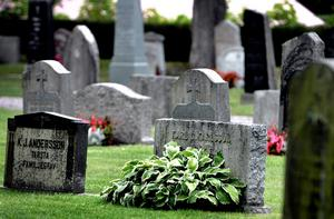 Sten är det överlägset vanligaste materialet när det gäller gravstenar. Foto: Håkan Risberg