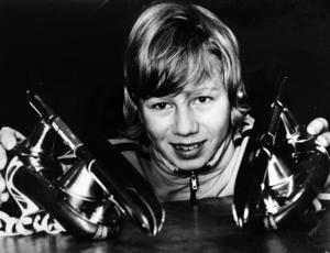 Den äldsta bilden på Bosse König i vårt arkiv är från 25 januari 1978.