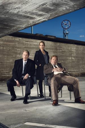 Rolf Lassgård, Helena af Sandeberg och Claes Malmberg gör huvudrollerna i dramaserien