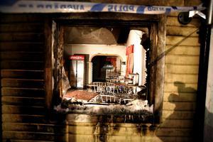 Pizzerian brann för andra gången på mindre än två dygn.