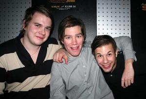 Silk. Jimmy, Andreas och Robert