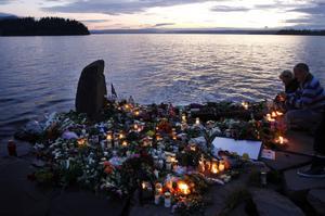 10 år har gått sedan terrorattentaten i Oslo och på Utöya. Foto: Scanpix / TT