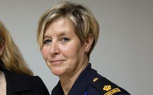 Carola Wiklund är kommunpolis i Norrtälje.